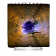 Abstract 82 Shower Curtain by J D Owen