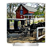 Amish Country Shower Curtain by Frozen in Time Fine Art Photography