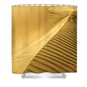 Desert Sand Dune Shower Curtain by Ezra Zahor