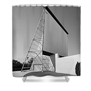 Drive-in Movie Shower Curtain by Frank Romeo