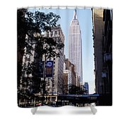 Empire State Building Shower Curtain by Jon Neidert