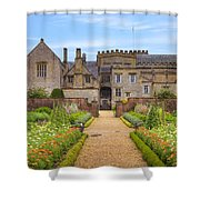 Forde Abbey Shower Curtain by Joana Kruse