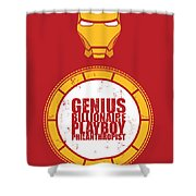 Iron Man Shower Curtain by Unknow