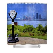 Louisville Kentucky Shower Curtain by Darren Fisher