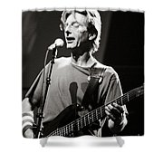 Phil Lesh Shower Curtain by Chuck Spang