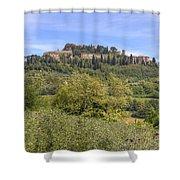Tuscany - Montepulciano Shower Curtain by Joana Kruse