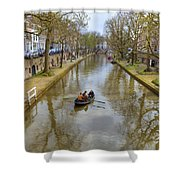 Utrecht Shower Curtain by Joana Kruse