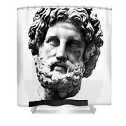 Asklepios Shower Curtain by Granger