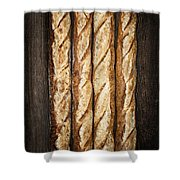 Baguettes Shower Curtain by Elena Elisseeva
