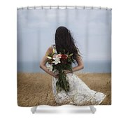 Bouquet Of Flowers Shower Curtain by Joana Kruse