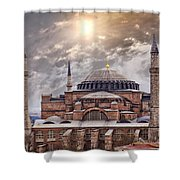 Hagia Sophia Istanbul Shower Curtain by Sophie McAulay