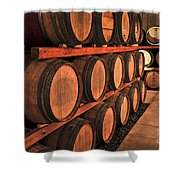 Wine Barrels Shower Curtain by Elena Elisseeva