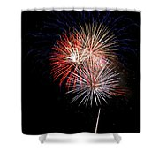 4th Of July 7 Shower Curtain by Marilyn Hunt