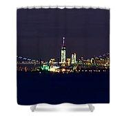 4th Of July New York City Shower Curtain by Raymond Salani III