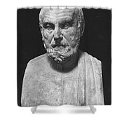 Hippocrates (c460-c377 B.c.) Shower Curtain by Granger