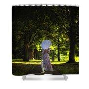 Jane Austen Shower Curtain by Joana Kruse