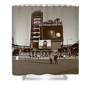 Citizens Bank Park - Philadelphia Phillies Shower Curtain by Frank Romeo