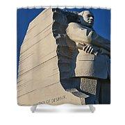 Martin Luther King Jr. Memorial Shower Curtain by Allen Beatty