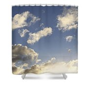 Sky Shower Curtain by Les Cunliffe