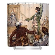 Patrick Henry (1736-1799) Shower Curtain by Granger