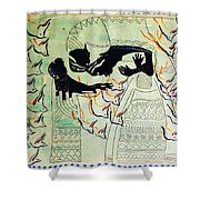 The Holy Family Shower Curtain by Gloria Ssali