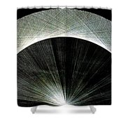 720 Pi Half Rainbow Shower Curtain by Jason Padgett