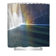 9-11 Memorial Shower Curtain by Dan Sproul