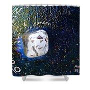 Barack Obama Star Shower Curtain by Augusta Stylianou