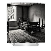 A Good Night's Rest Shower Curtain by Jeff Burton
