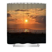 A Great Way To Start The Day Shower Curtain by Bill Cannon