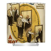A Hot Old Time Shower Curtain by Aged Pixel