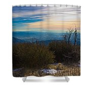 A Late Winter's Afternoon Shower Curtain by Heidi Smith