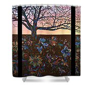 A Life's Journey Shower Curtain by James W Johnson