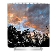A Memorable Sky Shower Curtain by Will Borden