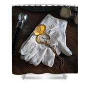 A Night At The Opera Shower Curtain by Lee Avison