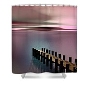 A Perfect Calm Shower Curtain by Barbara Milton