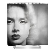 a place in time Mosh Shower Curtain by Gary Heller