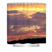 A Remarkable Sky Shower Curtain by Will Borden