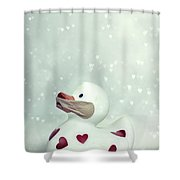 A shut mouth catches no flies Shower Curtain by Joana Kruse