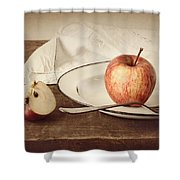 A Taste Of Autumn Shower Curtain by Amy Weiss