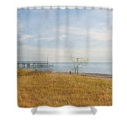 A Walk In Nature Shower Curtain by Kim Hojnacki