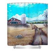 A Warm Welcome Shower Curtain by Shana Rowe Jackson