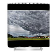 A Window to Switzerland Shower Curtain by Mountain Dreams