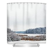 A Winters Dream Shower Curtain by Aimee L Maher Photography and Art Visit ALMGallerydotcom