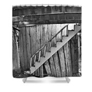Abandoned Shower Curtain by Brady Lane