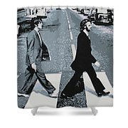 Abbey Road 2013 Shower Curtain by Luis Ludzska