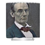 Abraham Lincoln Shower Curtain by American Photographer
