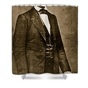 Abraham Lincoln Shower Curtain by Mathew Brady