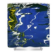 Abstract 12 Shower Curtain by Xueling Zou