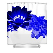 Abstract 130 Shower Curtain by J D Owen